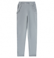 Купить брюки kiki kids girl, цвет: серый kdb-8290/szm/116