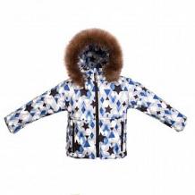 Купить куртка arctic kids, цвет: белый/черный ( id 11309726 )