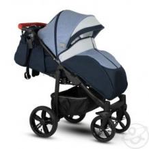 Купить прогулочная коляска camarelo elix, цвет: светло-синий меланж/серая экокожа ( id 10515266 )