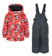 Купить комплект куртка/полукомбинезон zingaro by gusti, цвет: оранжевый ( id 9911193 )