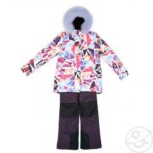 Купить комплект куртка/полукомбинезон batik брук, цвет: розовый ( id 11130224 )