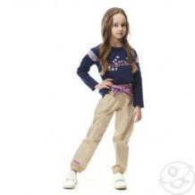 Купить брюки lucky child мечты сбываются, цвет: бежевый/розовый ( id 12673228 )