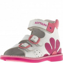 Купить сандалии bottilini, цвет: белый/розовый ( id 12476656 )