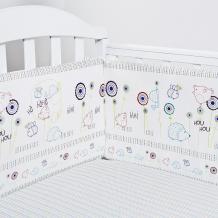 Купить бортик в кроватку baby nice (отк) ежик s911