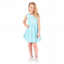 Купить платье малинка, цвет: голубой ( id 11543302 )