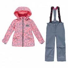 Купить комплект куртка/полукомбинезон stella's kids verona, цвет: коралловый ( id 12493816 )