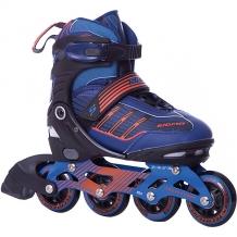 Купить роликовые коньки sigma, сине-оранжевые 8338849