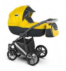Купить коляска 2 в 1 camarelo sudari, цвет: желтый/темно-серый ( id 9752292 )