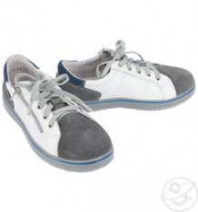 Купить кеды котофей, цвет: белый/серый ( id 4943833 )