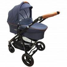 Купить коляска 2 в 1 bebe due beyond dragon, цвет: синий ( id 12089038 )