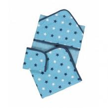 Купить набор из полотенец, 3 шт., синий mothercare 4885359
