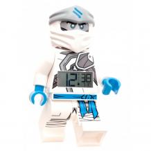 Купить часы lego будильник ninjago минифигура zane 7001125