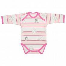 Купить боди чудесные одежки, цвет: розовый/белый ( id 12491818 )
