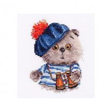 """Купить набор для вышивания алиса """"басик моряк"""" 10х12 см ( id 16690840 )"""