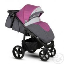 Купить прогулочная коляска camarelo elix, цвет: фуксия меланж/серая экокожа ( id 10515269 )