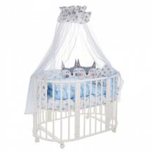 Купить комплект в кроватку sweet baby овальную gioia (8 предметов) 42328