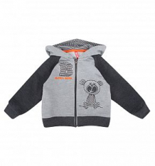 Купить толстовка kiki kids baby boy, цвет: серый ( id 9591276 )