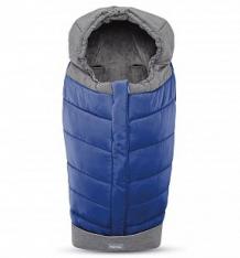 Купить конверт зимний inglesina для прогулочной коляски, цвет: royal blue ( id 9858519 )