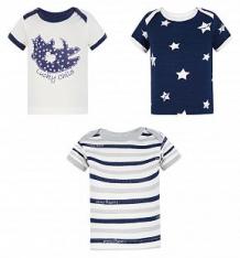 Комплект футболка 3 шт Lucky Child Котики, цвет: синий ( ID 2757809 )