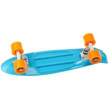Купить скейт мини круизер sulov neon синий 5.75 x 22 (55.9 см) голубой 1182132