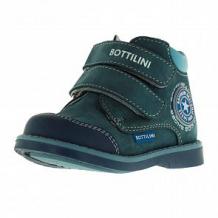 Купить ботинки bottilini, цвет: синий ( id 12477658 )