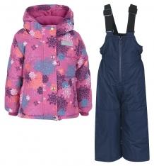 Купить комплект куртка/полукомбинезон salve by gusti, цвет: розовый/голубой ( id 9820176 )