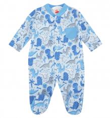 Купить комбинезон makoma dino blue, цвет: голубой ( id 6975451 )