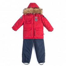 Купить комплект куртка/комбинезон лайки авиатор, цвет: красный/синий ( id 7464367 )
