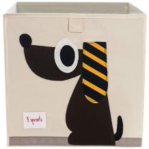 Купить коробка для хранения 3 sprouts собачка 5098219