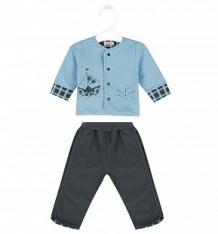 Купить комплект джемпер/брюки sofija gabrys, цвет: голубой ( id 8481865 )