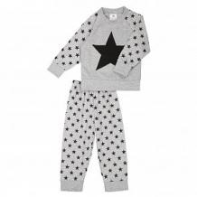 Купить комплект джемпер/брюки грачонок, цвет: серый/черный ( id 12660988 )