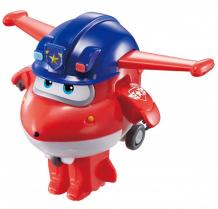 Купить super wings мини-трансформер джетт полицейский eu730031