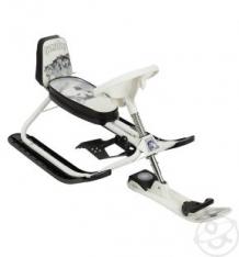 Купить снегокат дэми kiddy lux хаски, цвет: черный/белый ( id 6673561 )