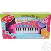 Купить синтезатор наша игрушка удачливый музыкант, 24 клавиши, 35 х 5 х 20 см ( id 10287686 )