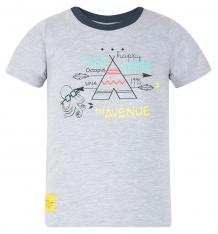 Купить футболка kiki kids осьминожек, цвет: серый ( id 8165113 )