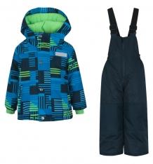 Купить комплект куртка/полукомбинезон salve by gusti, цвет: голубой/зеленый ( id 9820200 )