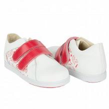 Купить полуботинки tapiboo мак, цвет: белый/красный ( id 10489529 )