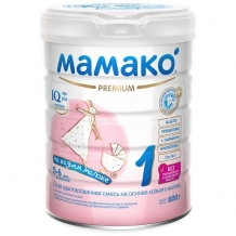 Купить мамако 1 молочная смесь на основе козьего молока 800 г 00000002