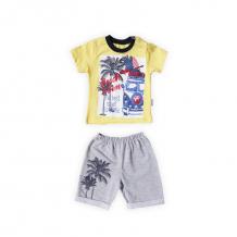 Купить комплект футболка/шорты bidirik, цвет: желтый 854