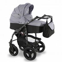 Купить коляска 2 в 1 sevillababy vento, цвет: серый ( id 12646918 )