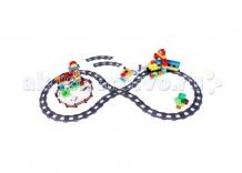 Купить голубая стрела железная дорога конструктор 449 см 87148 87148