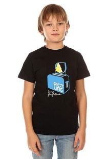 Футболка детская Picture Organic Toaster Tee Black черный ( ID 1132450 )