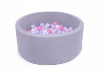 Купить anlipool сухой бассейн с комплектом шаров №32 lavender grey anpool1800106