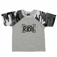 Купить футболка beverly kids, цвет: серый ( id 11998666 )