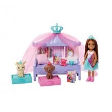 """Купить игровой набор barbie """"приключения принцессы челси"""" время историй принцессы ( id 16480628 )"""