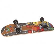 Купить скейтборд в сборе детский fun4u little monster multi 24 x 6 (15.2 см) мультиколор ( id 1146835 )