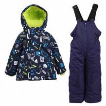 Купить комплект куртка/полукомбинезон salve, цвет: синий ( id 10675763 )