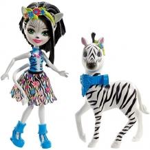 Купить mattel enchantimals fky75 кукла с большой зверюшкой
