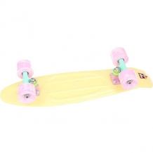 Купить скейт мини круизер пластборд lime yellow 6 x 22.5 (57.2 см) желтый 1176981