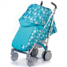 Купить коляска-трость babyhit rainbow lt, серо-голубая ( id 11429208 )